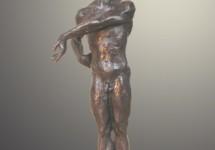 En jarra 1 bronce 45 cm