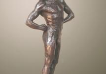 En jarra 3 bronce 45 cm
