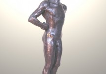 En jarra 7 bronce 45 cm